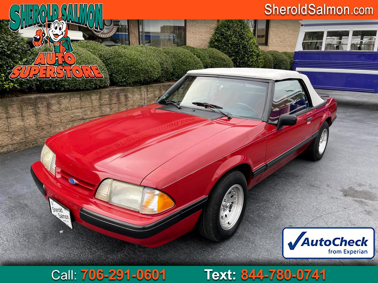1989 Ford Mustang 2dr Convertible LX