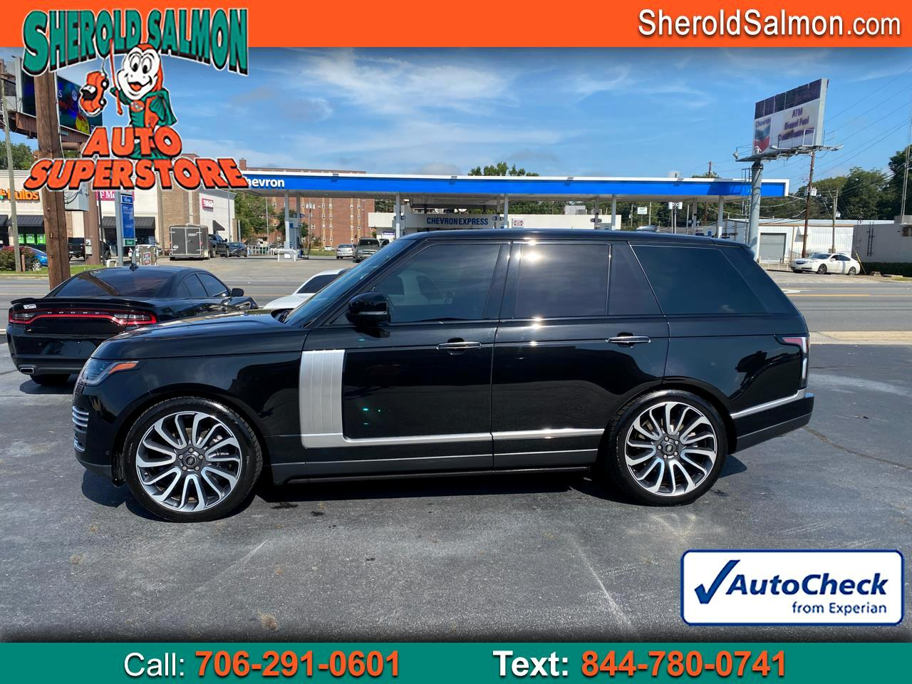 2019 Land Rover Range Rover V8 Supercharged Autobiography SWB