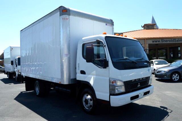 2010 Mitsubishi Fuso FE84D Cargo Truck