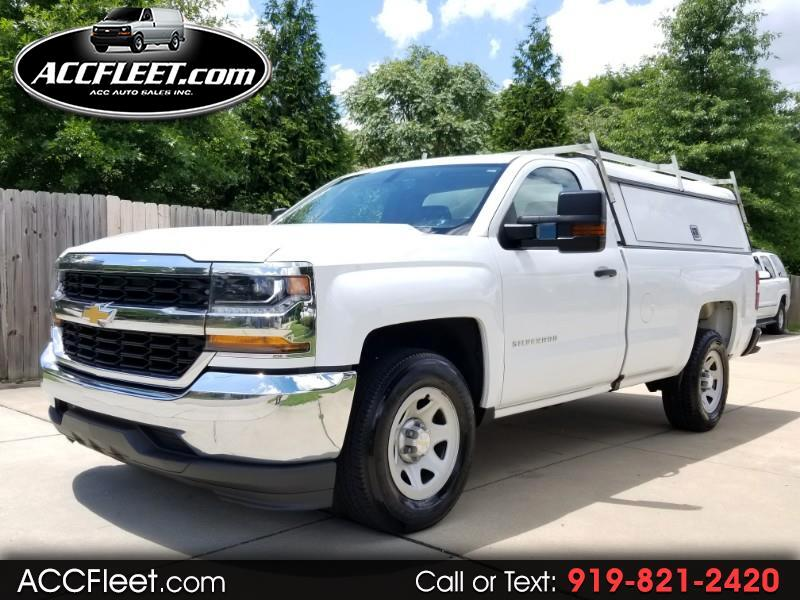 Chevrolet Silverado 1500 Regular Cab Long Bed 2WD 2016