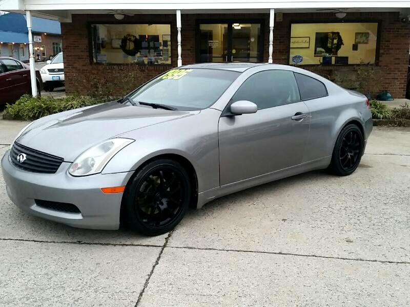 2005 Infiniti G35 Coupe 2dr Cpe Manual