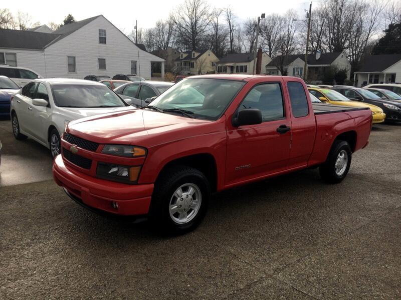 "2005 Chevrolet Colorado Ext Cab 125.9"" WB LS Z85"