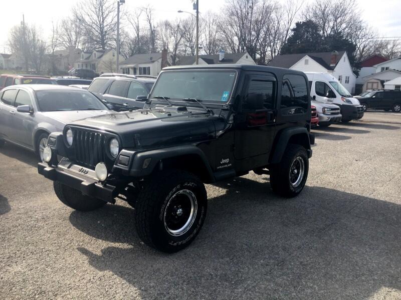 2003 Jeep Wrangler 2dr SE