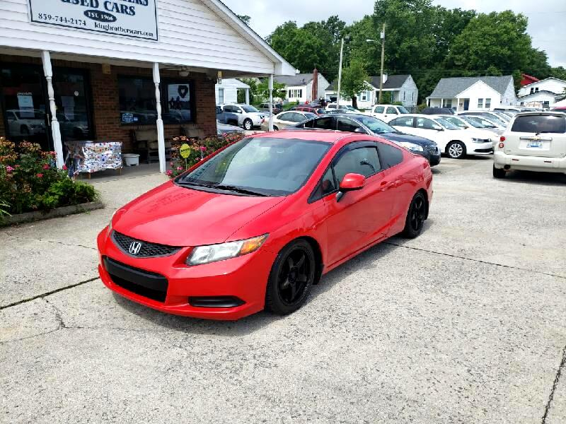 Honda Civic Cpe 2dr Man LX 2012