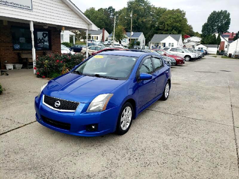 Nissan Sentra 4dr Sdn I4 CVT 2.0 SR 2012