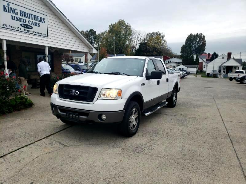 "Ford F-150 4WD SuperCrew 150"" FX4 2007"