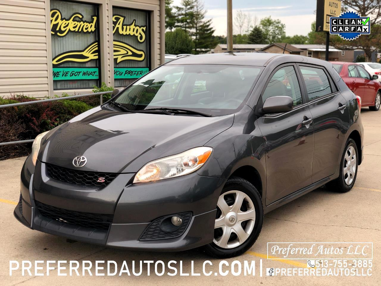 Toyota Matrix S AWD 4-Speed AT 2010