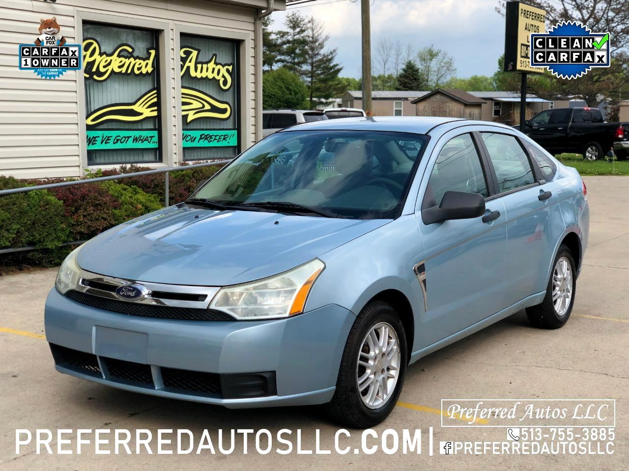 2008 Ford Focus 4dr Sdn SE