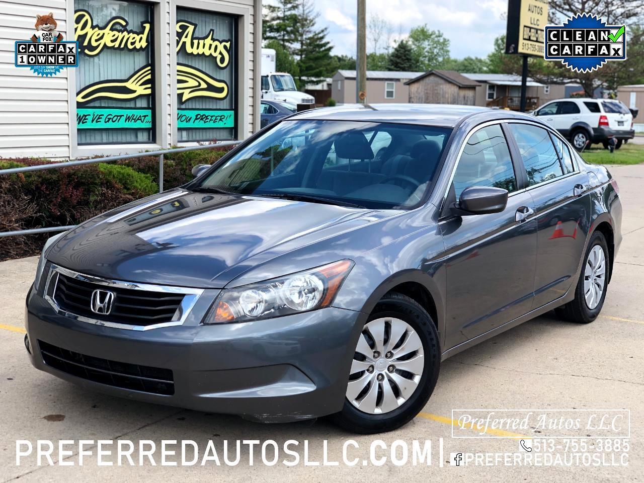 2010 Honda Accord Sdn LX AT