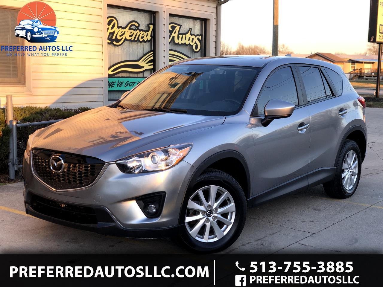 Mazda West Chester >> Used 2014 Mazda CX-5 AWD 4dr Auto Touring for Sale in West Chester OH 45069 Preferred Autos LLC