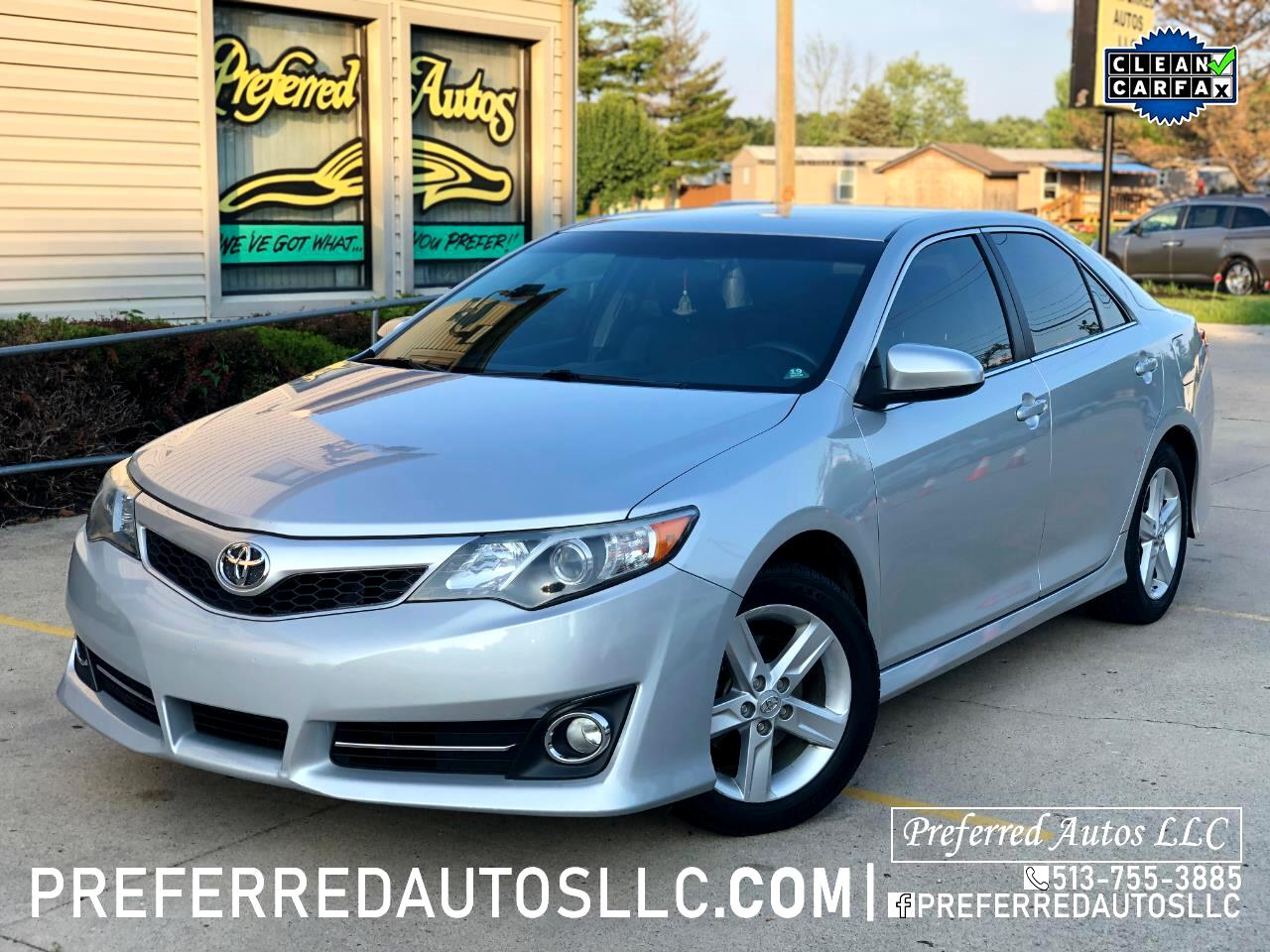 2013 Toyota Camry SE 6-Spd AT