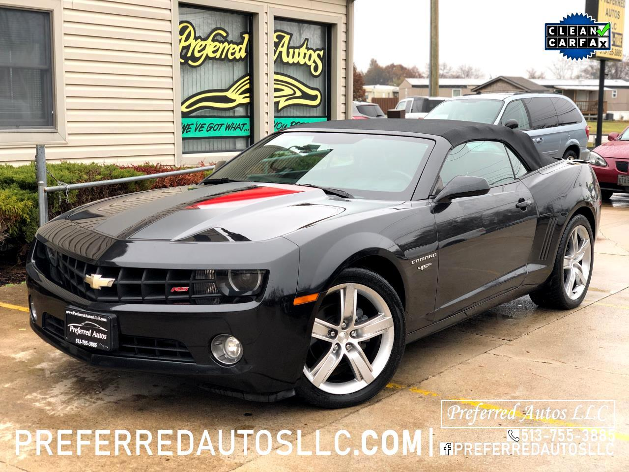 Chevrolet Camaro 2dr Convertible RS 2012