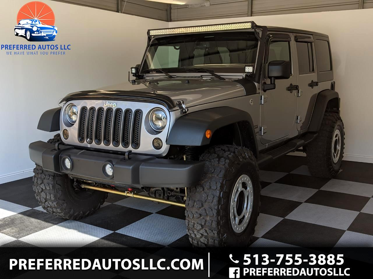 Jeep Wrangler Unlimited Sport S 4x4 2016