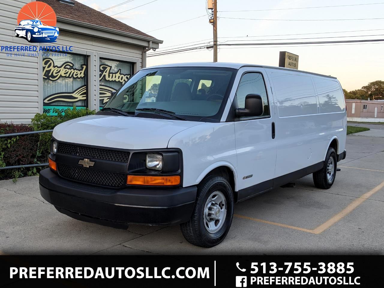 "Chevrolet Express Cargo Van 3500 155"" WB RWD 2006"