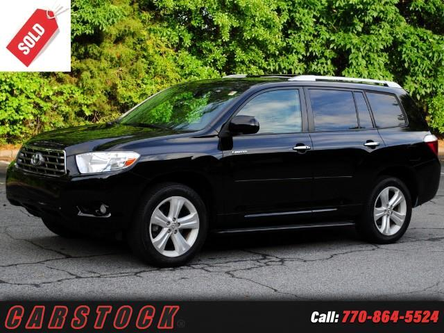 2010 Toyota Highlander Limited 4WD w Navigation JBL