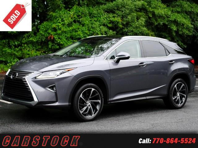 2016 Lexus RX 350 Luxury Safety+ Navigation Mark Levinson Pano Roof