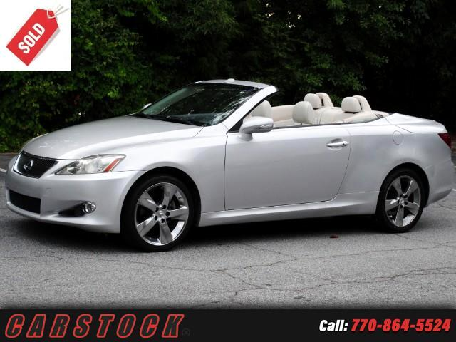 2010 Lexus IS C IS 250C Luxury w Navigation