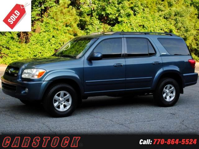 2006 Toyota Sequoia SR5 Moonroof JBL Sound Tow Package