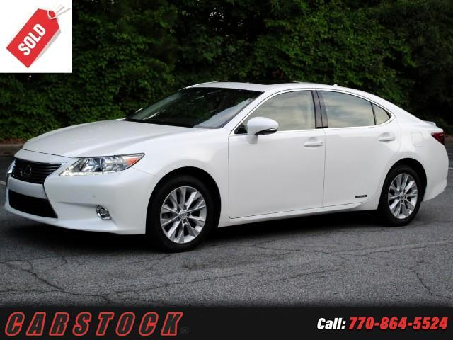 2014 Lexus ES 300h Luxury Package w/ Navigation BSM