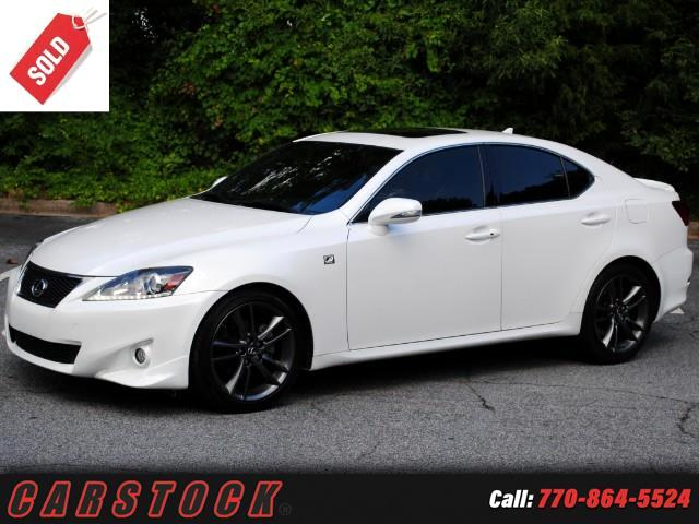 2013 Lexus IS 250 F Sport Premium w Navigation