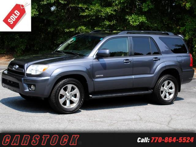2006 Toyota 4Runner Limited w/ Navigation JBL