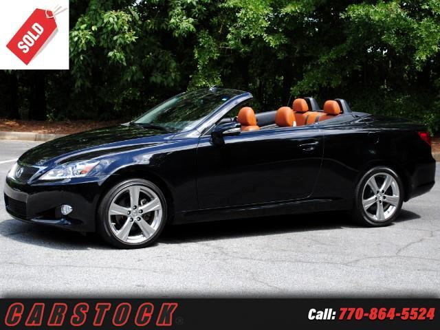 2015 Lexus IS C 250 Luxury Package w/ Navigation