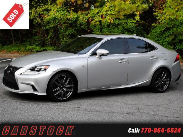2014 Lexus IS 350 F Sport w/ Navigation Mark Levinson BSM