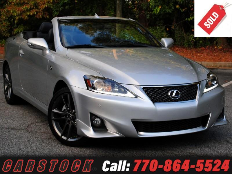 2013 Lexus IS C 250 F Sport Premium w/ Navigation