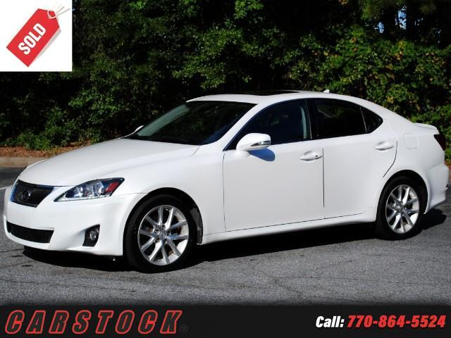 2012 Lexus IS 250 AWD Premium w/ Navigation