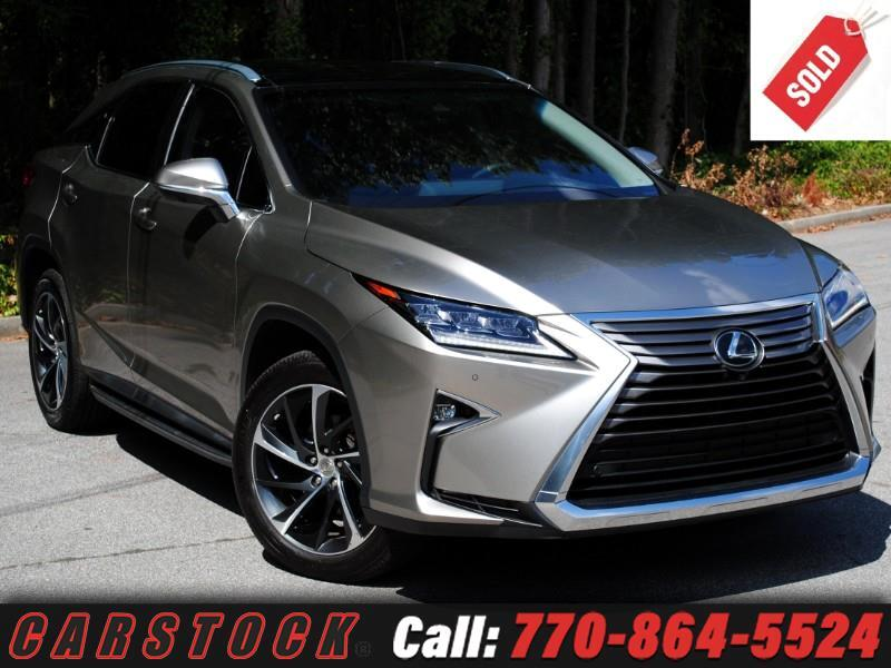 2017 Lexus RX 350 AWD Luxury Safety+ Mark Levinson Pano Roof HUD 360