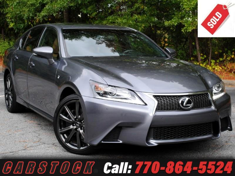 2015 Lexus GS 350 F Sport AWD Premium Cold Weather w/ Navigation
