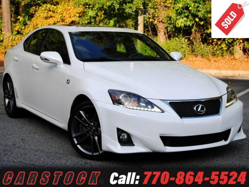 2011 Lexus IS 350 F Sport Premium w/ Navigation