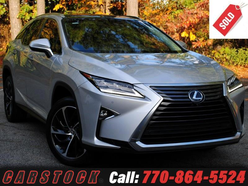 2017 Lexus RX 350 Ultra Luxury Panoramic Roof + Mark Levinson Sound