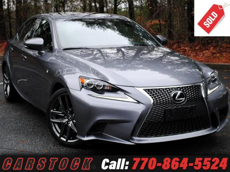 2016 Lexus IS 300 F Sport AWD w/ Navigation BSM