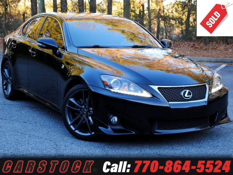 2011 Lexus IS 250 F Sport Premium w/ Navigation