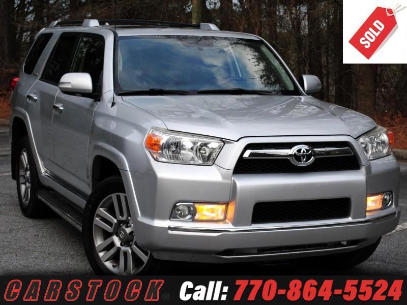 2012 Toyota 4Runner Limited 4WD w/ Navigation JBL