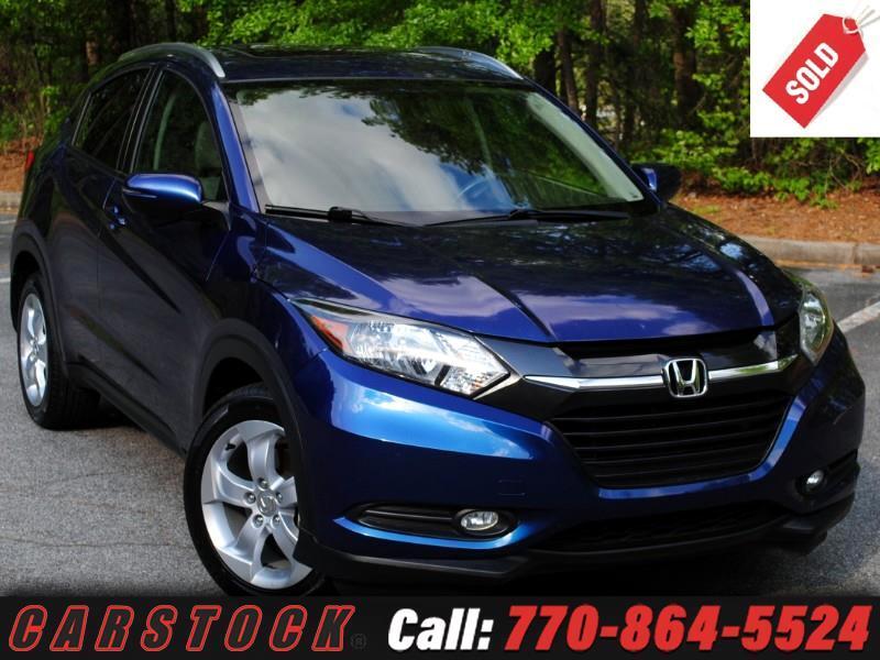 2016 Honda HR-V EX-L with Navigation