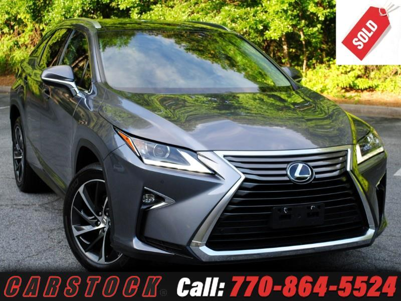 2016 Lexus RX 350 AWD Luxury Safety+ Mark Lev Pano Roof