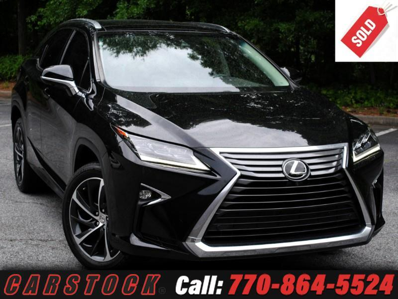 2016 Lexus RX 350 Ultra Luxury Safety+ HUD Pano Roof Mark Lev