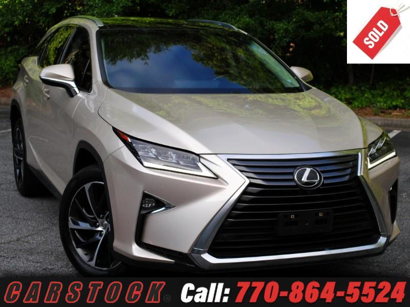 2016 Lexus RX 350 AWD Ultra Luxury Safety+ Pano Roof Mark Lev HUD