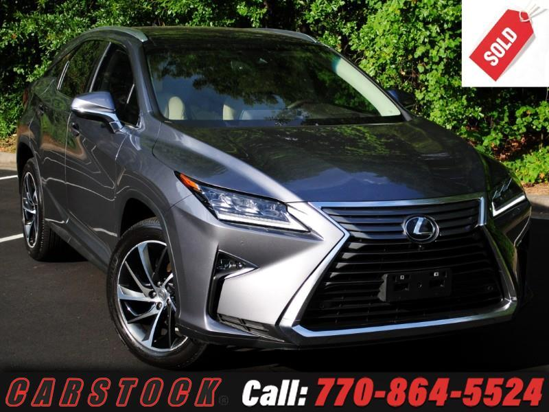 2017 Lexus RX 350 AWD ULTRA LUXURY Safety+ Mark Lev Pano Roof HUD