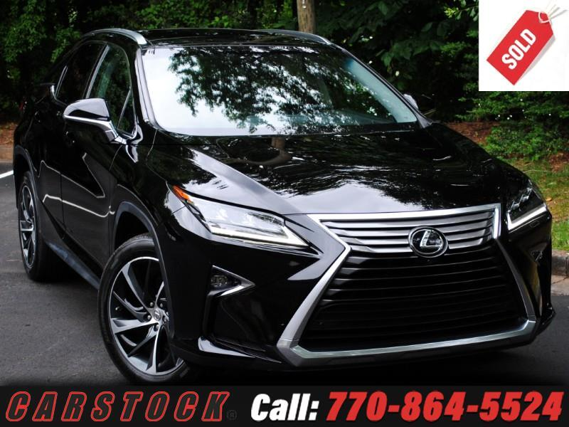 2016 Lexus RX 350 AWD ULTRA LUX Safety+ HUD Mark Lev Pano Roof