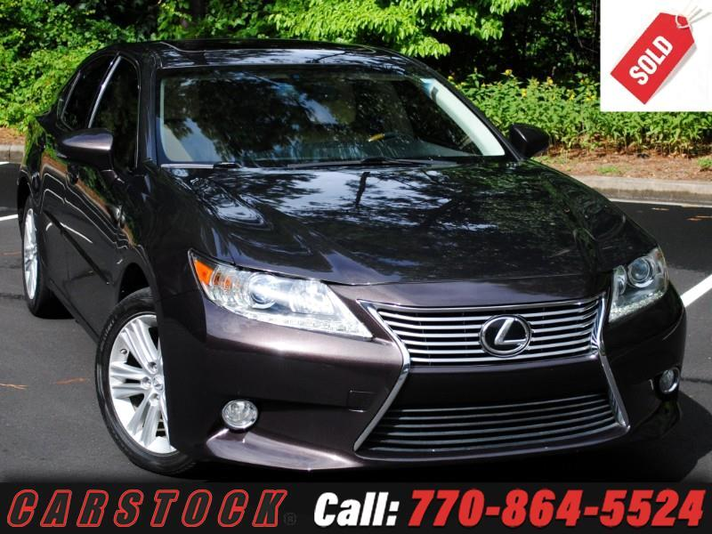 2013 Lexus ES 350 Premium Package w/ Backup Camera