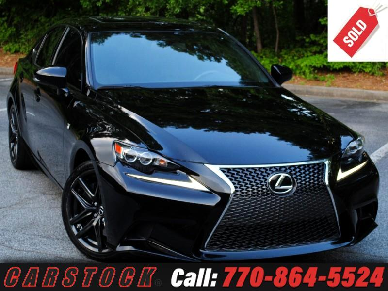 2016 Lexus IS 200t F Sport Premium w/ Navigation BSM