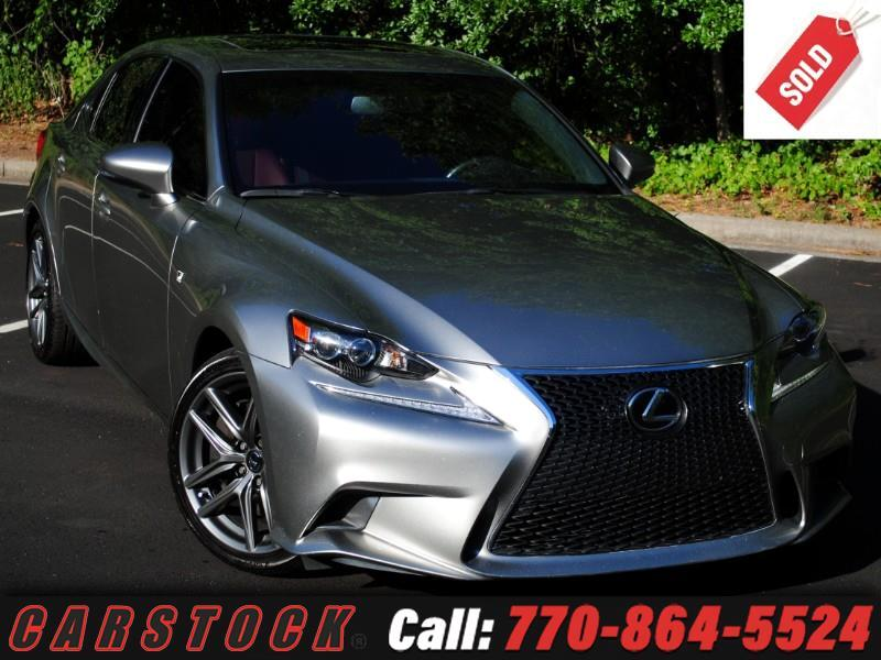 2016 Lexus IS 200t F Sport Premium w/ Navigation Adaptive Cruise