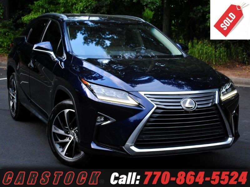 2016 Lexus RX 350 AWD ULTRA LUX Safety+ w/Nav Mark Lev Pano Roof