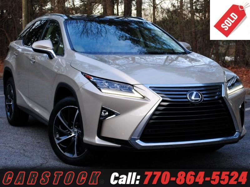 2016 Lexus RX 350 AWD ULTRA LUX Safety+ Mark Lev HUD Pano Roof