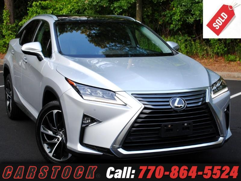 2016 Lexus RX 350 AWD ULTRA LUX Safety+ Nav HUD Mark Lev Pano Roof
