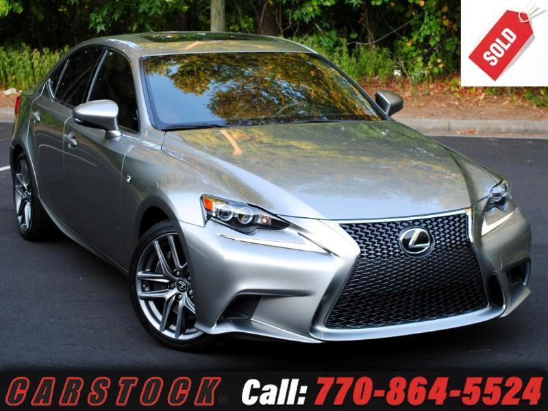 2016 Lexus IS 350 F Sport Premium w/ Navigation BSM