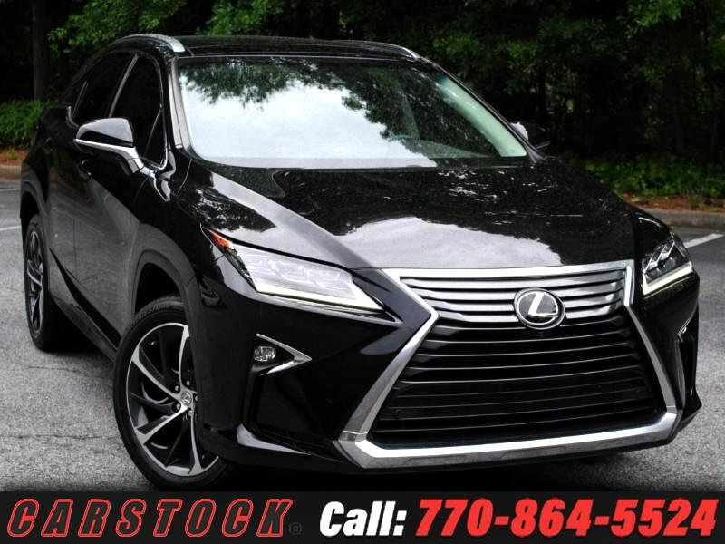2016 Lexus RX 350 ULTRA LUX Safety+ Pano Roof HUD Mark Lev 360 Cam